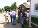 1. Spatenstich Ortsdurchfahrt Oberharthausen