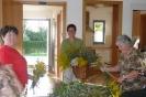 Kräuterbuschenbinden der Landfrauen